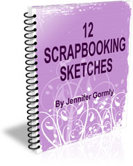 Free Scrapbooking Sketches eBook